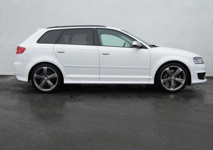 Audi S3 - Белая горячка