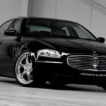 Ателье Wheelsandmore скромно «приодело» Maserati GranTurismo и Quattroporte