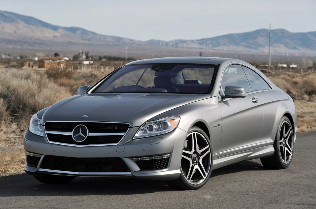 Mercedes-Benz CL65 AMG Coupe