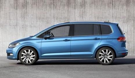 Volkswagen Touran - минивэн нового поколения