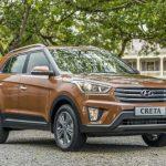 Hyundai Creta стал лидером среди SUV по продажам ноября на рынке РФ